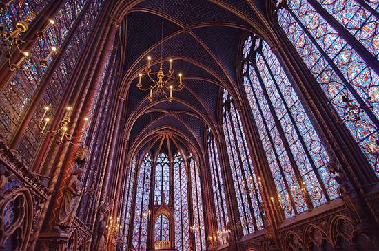 A Closer Look Sainte Chapelle Paris